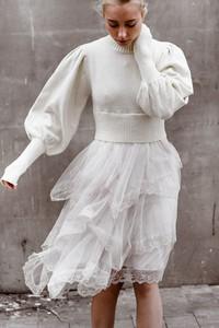Sukienka Fancy z tiulu oversize