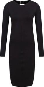 Sukienka Armani Exchange z długim rękawem w stylu casual