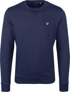 Niebieska bluza Lyle & Scott w stylu casual
