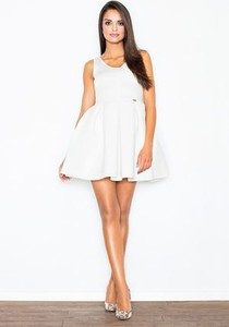Sukienka Figl bez rękawów rozkloszowana