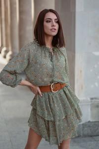 Sukienka Popatu z długim rękawem mini