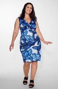 Niebieska sukienka Cellbes z dżerseju