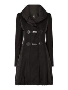Czarny płaszcz Gil Bret z wełny