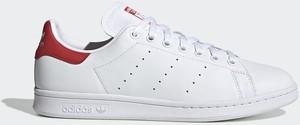 Buty Stan Smith Adidas Originals (biało-czerwone)