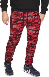 Czerwone spodnie sportowe R Fireball z dresówki