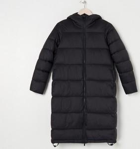 Czarny płaszcz Sinsay w stylu casual