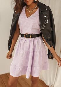 Sukienka Latika z długim rękawem mini