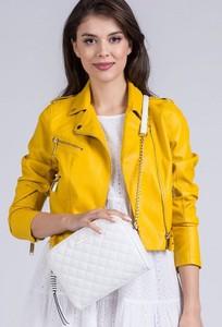 Żółta torebka Monnari pikowana na ramię