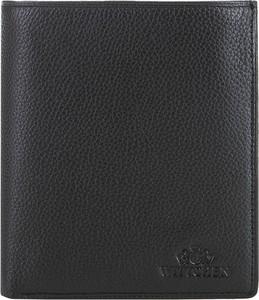 Czarny portfel męski Wittchen