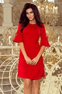 Sukienka NUMOCO z okrągłym dekoltem mini