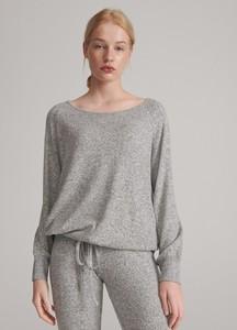 Sweter Reserved w stylu casual z dresówki