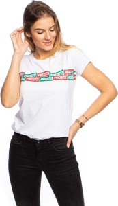 T-shirt Prosto Klasyk z okrągłym dekoltem w młodzieżowym stylu