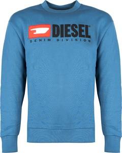 Niebieska bluza ubierzsie.com z bawełny