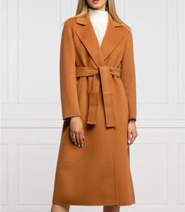 Płaszcz Marella z wełny w stylu casual