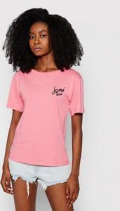 T-shirt Femi Stories z krótkim rękawem z okrągłym dekoltem