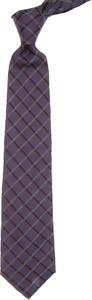 Fioletowy krawat S.T. Dupont