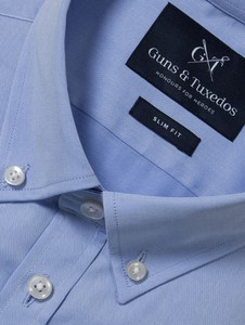 Niebieska koszula guns&tuxedos