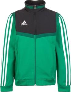 Zielona kurtka dziecięca Adidas Performance