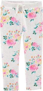 Spodnie dziecięce OshKosh w kwiatki