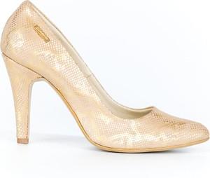 Szpilki Zapato z nadrukiem w stylu klasycznym