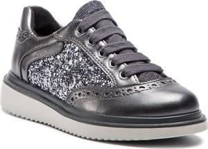 0df9e87ffd8d8 Granatowe buty sportowe dziecięce Geox sznurowane
