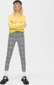 Żółty sweter Cropp w stylu casual