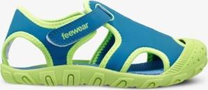 Niebieskie buty dziecięce letnie Feewear
