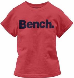 Czerwona koszulka dziecięca bench
