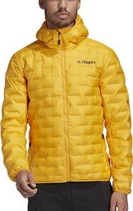 Żółta kurtka Adidas krótka