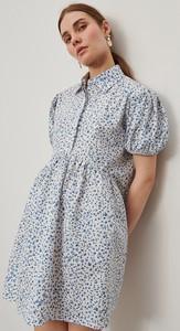 Sukienka Reserved mini koszulowa