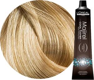 L'Oreal Paris Loreal Majirel Cool Cover   Trwała farba do włosów o chłodnych odcieniach - kolor 10 bardzo bardzo jasny blond 50ml - Wysyłka w 24H!