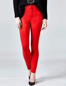 Czerwone spodnie Guess