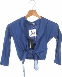 Niebieski sweter European Culture