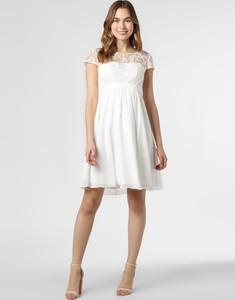 Sukienka Luxuar Fashion z okrągłym dekoltem