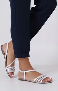 Sandały Casu z płaską podeszwą