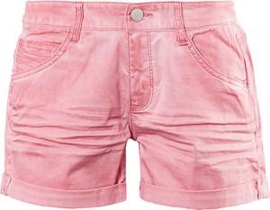 Różowe szorty Q/s Designed By - S.oliver w stylu casual