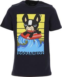 Koszulka dziecięca Dsquared2 z bawełny