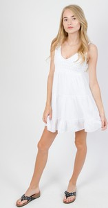 Sukienka Olika bez rękawów mini z bawełny