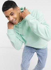 Zielona bluza Asos w młodzieżowym stylu z plaru