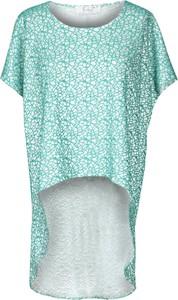 Niebieska tunika Fokus w stylu casual