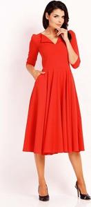 Pomarańczowa sukienka Nommo