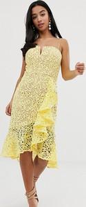 Żółta sukienka Jarlo Petite