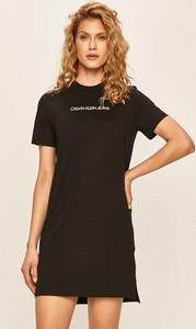 Czarna sukienka Calvin Klein
