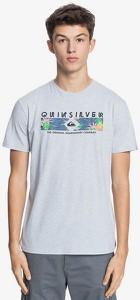 T-shirt Quiksilver w młodzieżowym stylu z krótkim rękawem