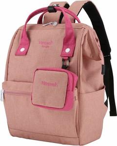 Różowy plecak męski Himawari