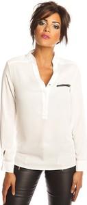 Bluzka Scarlet Jones z długim rękawem z dekoltem w kształcie litery v