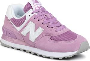Różowe buty sportowe eobuwie.pl sznurowane