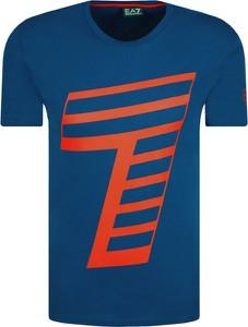 T-shirt Emporio Armani z krótkim rękawem w młodzieżowym stylu