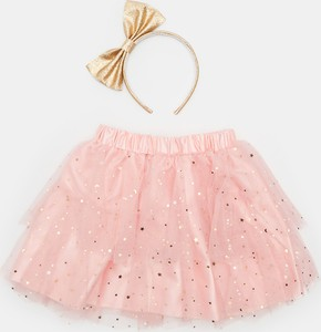 Różowa spódniczka dziewczęca Sinsay