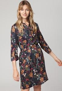 Sukienka Solar z długim rękawem w stylu casual